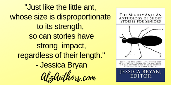 _just like the little ant, whose size is disproportionate to its strength, so can stories have strong impact, regardless of their length._