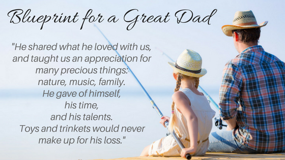 blueprint for a great dad