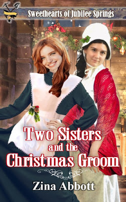 Two Sister and the Christmas Groom cover